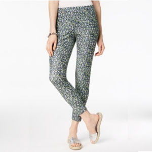 New Michael Kors Floral Print Leggings Size L $74